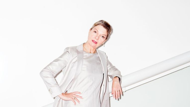 Rachel Beaujean: 'Als balletmeester ben je voor de danser wat het script is voor een acteur.' Beeld Marie Wanders