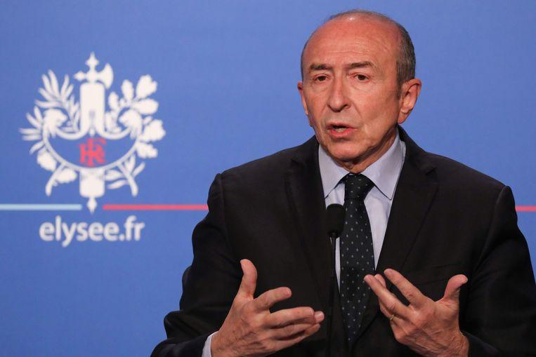 Frans minister van Binnenlandse Zaken Gérard Collomb.