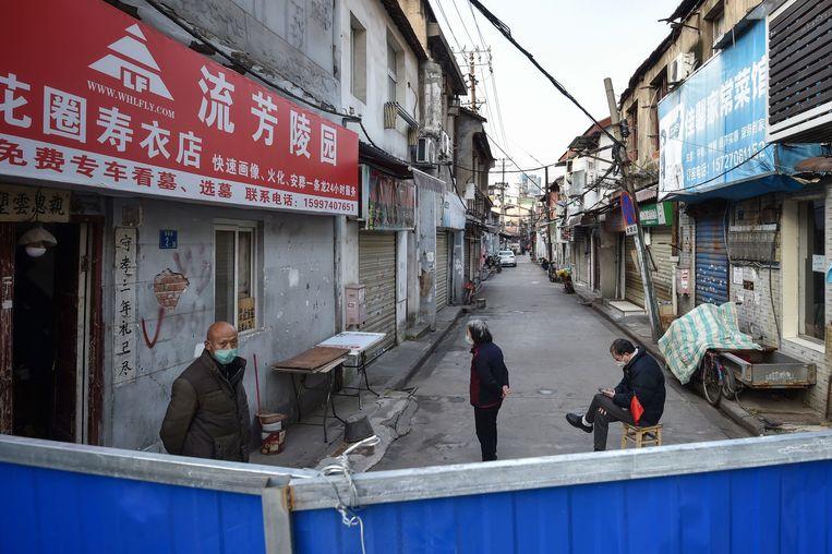 Het epicentrum in China, Wuhan, is volledig afgesloten van de buitenwereld.