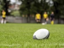 Dames aan het rugby bij The Vets in Valkenswaard