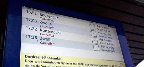 Trein ontruimd op station Etten-Leur na brandlucht, treinverkeer tussen Breda en Roosendaal komt weer op gang