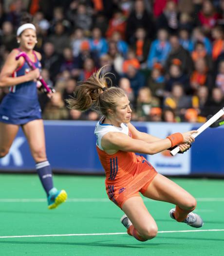 Hockeysters Oranje walsen opnieuw over de VS heen