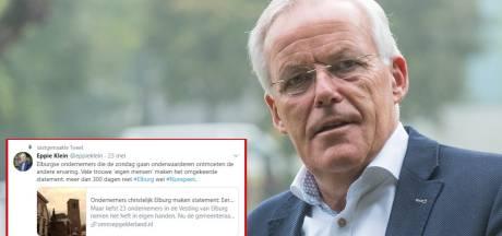 Roept SGP-coryfee Klein uit Elburg nou op om ondernemers in eigen stad te boycotten?