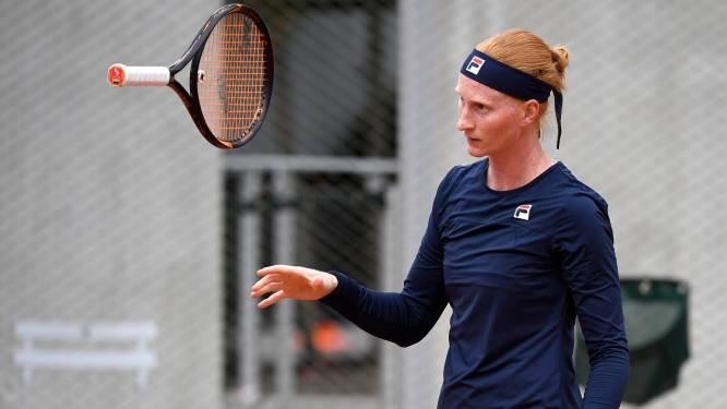 """Van Uytvanck geeft op in tweede ronde van Roland Garros: """"Ik heb migraine, het is zeker geen Covid-19"""""""