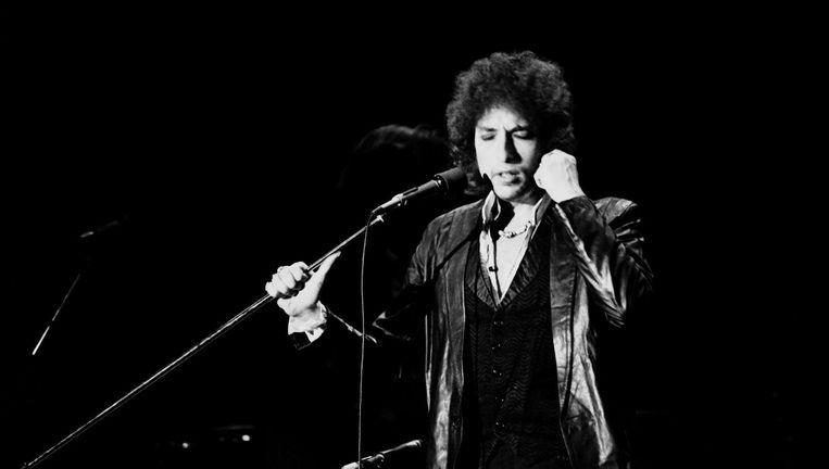 Bob Dylan in 1978. Beeld null