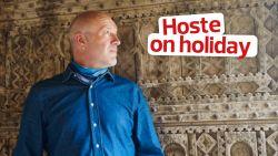 """Geert Hoste op vakantie in Tunesië: """"Afdwingen voor dummies"""""""