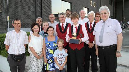 Tristan wint 34ste Prijs Roel Vandenheede