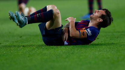 FC Barcelona wint topper tegen Sevilla, maar speelt Messi kwijt voor 'Clasico' door elleboogbreuk