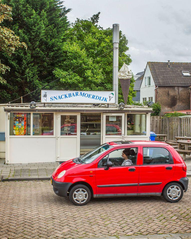 Snackbar Moerdijk Beeld arie kievit