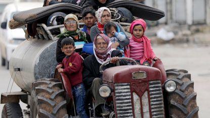 Turkse troepen opgerukt tot enkele honderden meters van stad Afrin