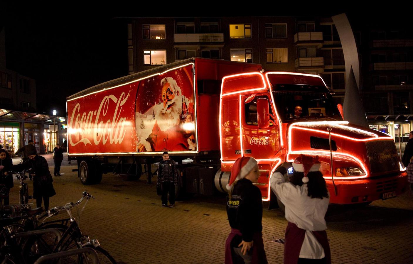 De Coca-Cola kersttruck.
