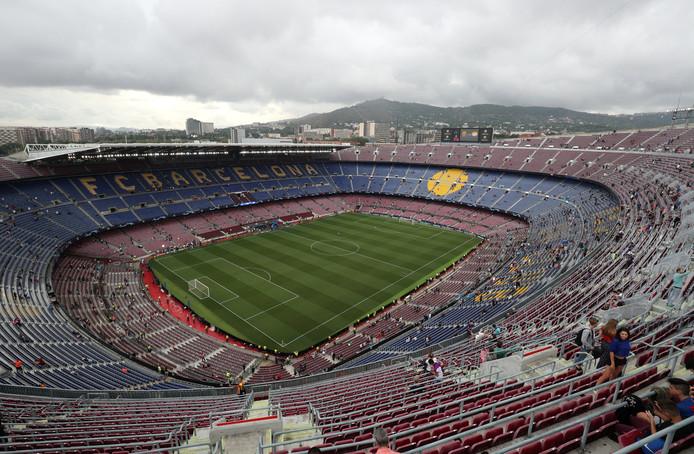 FC Barcelona-PSV begint dinsdagavond om 18.55.
