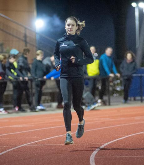 Atletiektalent Anne Knijnenburg na vervelend 2019 weer helemaal terug