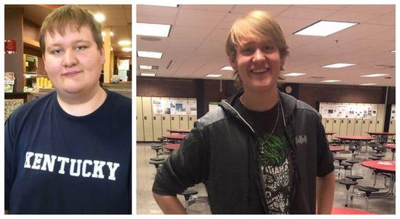 Overgewicht is voor de stralende Michael definitief verleden tijd.