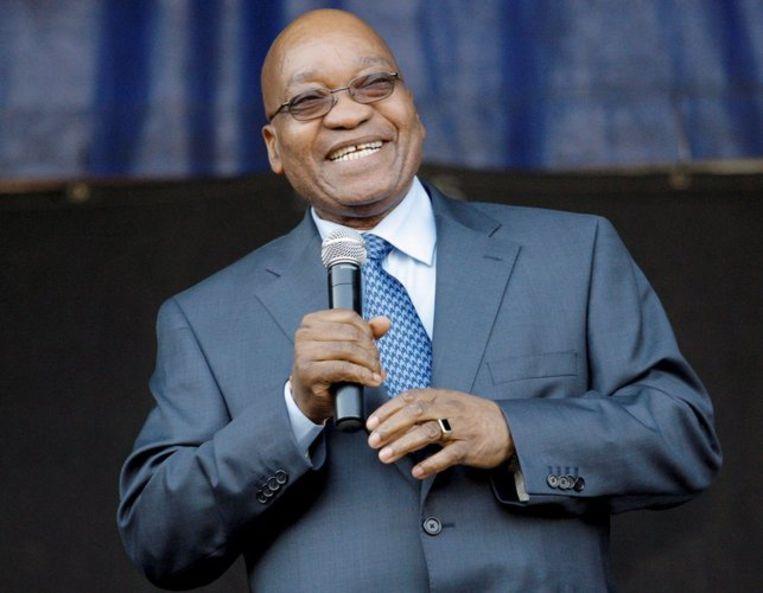 ANC-leider Jacob Zuma moet misschien alsnog voor de rechter verschijnen. Foto EPA/Kim Ludbrook Beeld