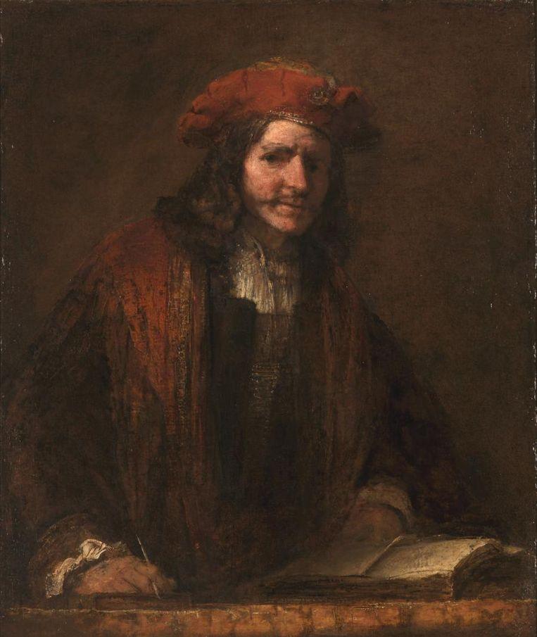 Is dit een echte Rembrandt? Hoe kun je dat zien? Ontdek het in Laboratorium Rembrandt. Beeld Het Rembrandthuis