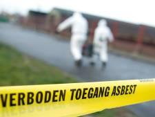 Asbest gevonden in speelpark bij basisschool De Wijngaard