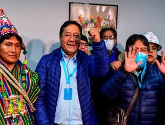 """""""Arce heeft presidentsverkiezingen Bolivia gewonnen"""""""