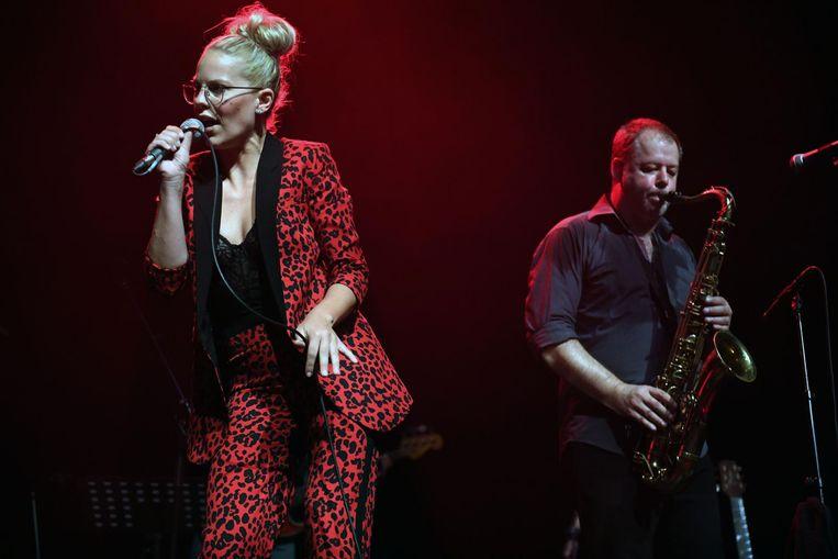 Dit jaar trad The Philips met Eline De Munck op.
