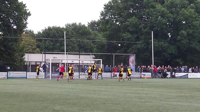 Derby VDZ tegen VVO eindigt in 2-2.