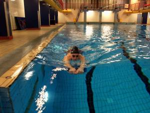 Geen plek voor vroege zwemmers inAmerena