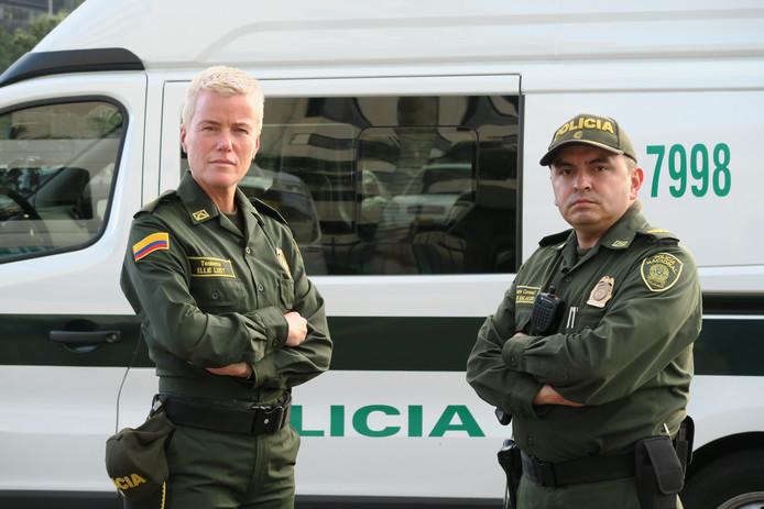 Ellie Lust op patrouille in Colombia