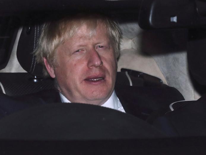 Boris Johnson après le refus des députés