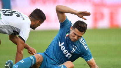 'Spitsengoal' van Chiellini bezorgt Juventus nipte zege, VAR keurt doelpunt Ronaldo af