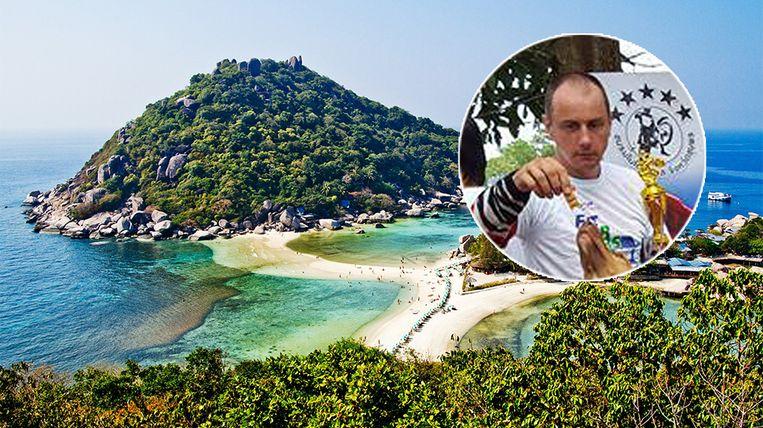 Bernd Grotsch stierf op het Thaise eiland Koh Tao