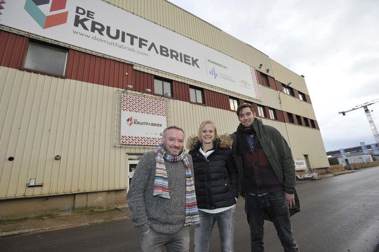 Didier Cortois, Julie en Sven hebben nog ideeën zat voor De Kruitfabriek.