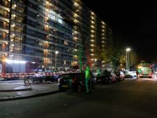 Brand in flat Hoogvliet: twee gewonden