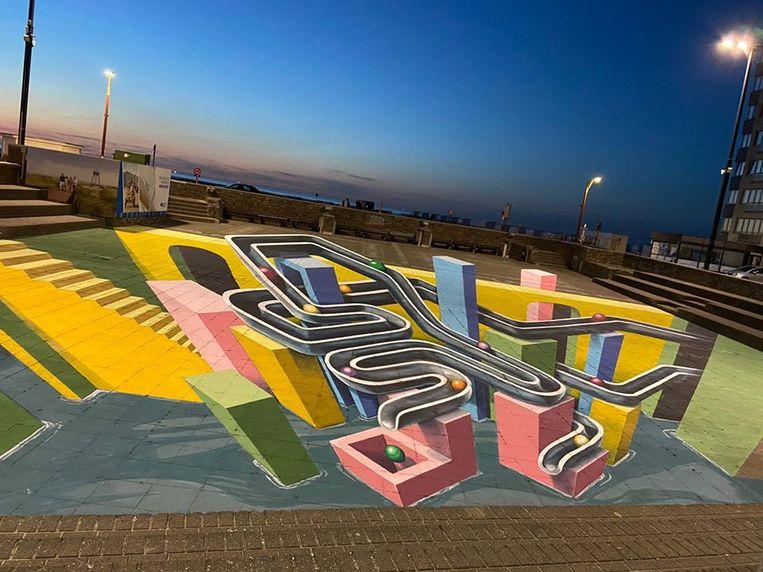 Streetart op het Heldenplein