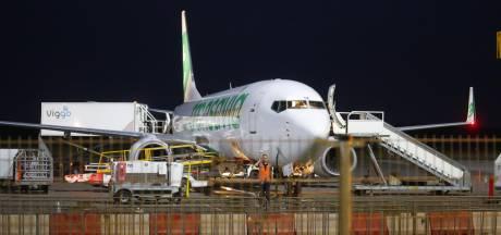 Brand in motor vliegtuig op Eindhoven Airport: geschrokken passagiers opgevangen