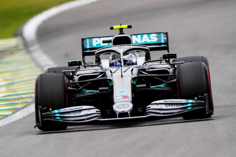 Valtteri Bottas, Mercedes AMG W10 FORMULE 1 : Grand prix du Bresil - Essais - Sao Paulo - 16/11/2019 © PanoramiC ! only BELGIUM !