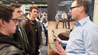 Studenten en bedrijven vinden elkaar op drukke  jobbeurs van Thomas More en KU Leuven