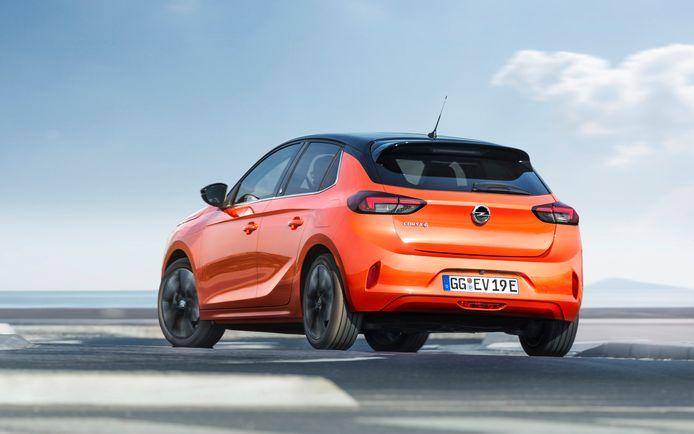 De Opel Corsa-e verschilt nauwelijks van de versies op benzine
