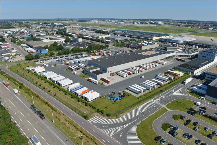 Brucargo, de vrachtluchthaven van Brussels Airport.
