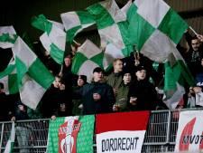 Drie supporters Helmond Sport aangehouden na gooien met stenen in bezoekersvak van FC Dordrecht