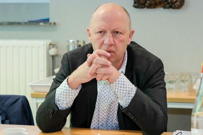 Hans Bonte (foto dateert van voor de coronacrisis).