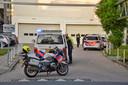 Het wemelde van de politieagenten bij de spoedeisende hulp.