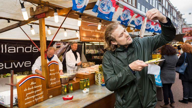 Chef-kok van Rijks Joris Bijdendijk. Beeld Ivo van der Bent
