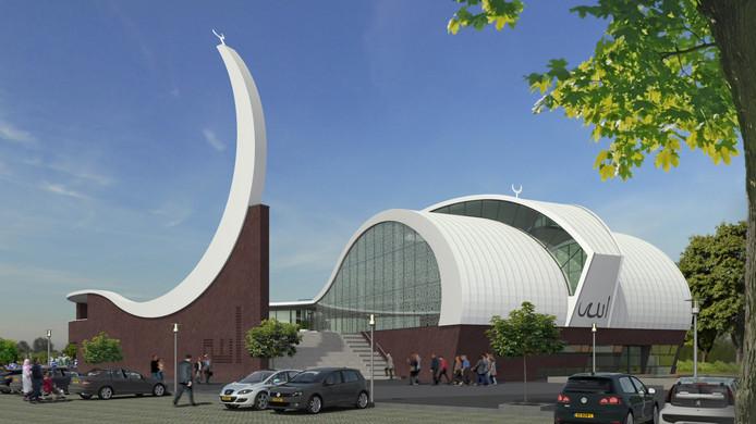 Zo moet de nieuwe moskee eruit komen te zien