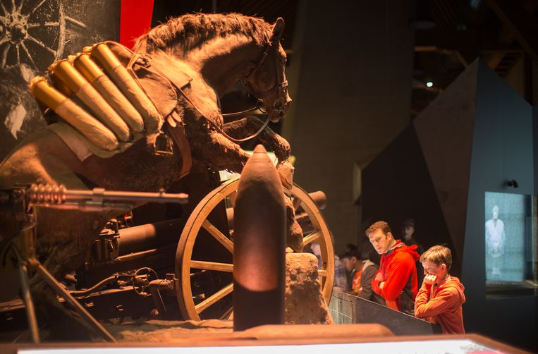 Er worden minder bezoekers verwacht  na de grote herdenkingsperiode, maar aan de inhoud van de tentoonstellingen zal het niet liggen.
