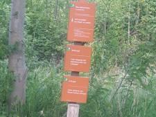 Aardige verrassing voor vaderdag: een eigen pad in het Kuinderbos