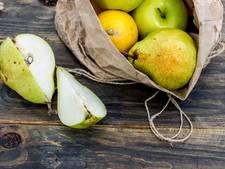 Zo houd je gesneden appels en peren fris en fruitig