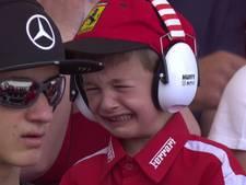 Huilend Ferrari-jongetje ontdooit 'The Ice Man'