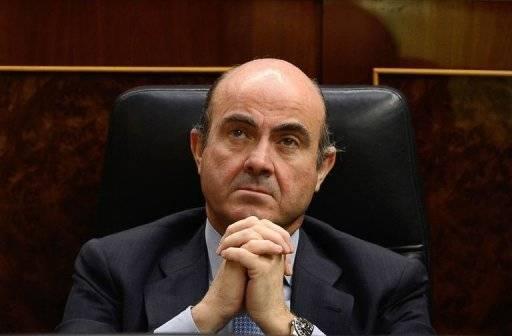 Le ministre espagnol des Finances, Luis de Guindos