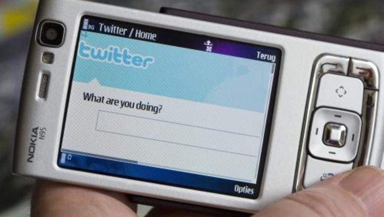 Het fenomeen Twitter is bij 63 procent van de Nederlanders bekend, maar slechts 3 procent gebruikt de website. ANP Beeld