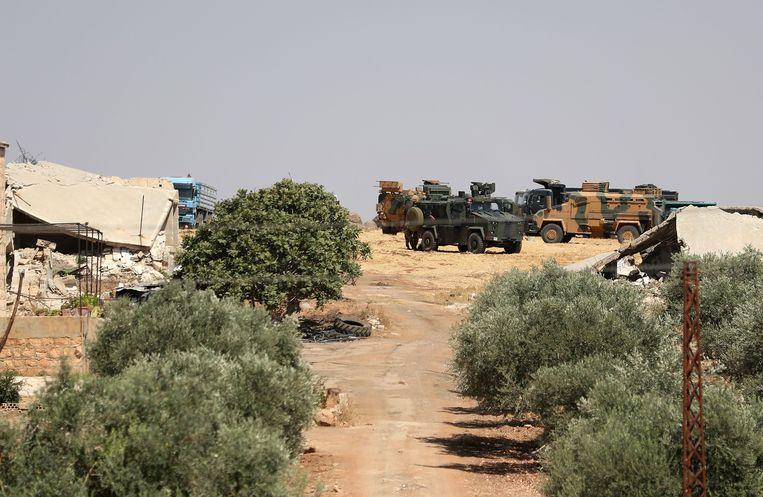 Maar Hitat in de provincie Idlib.