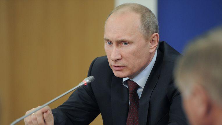President Poetin. Beeld ap